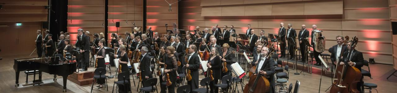 Bergen Philharmonic Orchestra (photo by Dag Fosse)