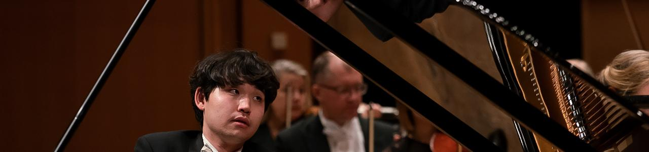 Ryoma Takagi from Japan is the winner of the 1st Prize in the International Edvard Grieg Piano Competition 2018 (photo by Dag Fosse).