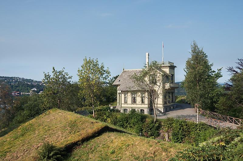Grieg's Villa at Troldhaugen (photo by Dag Fosse).